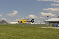 county hospital helicopter